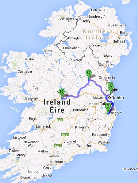 Visiter Dublin Et Ses Environs